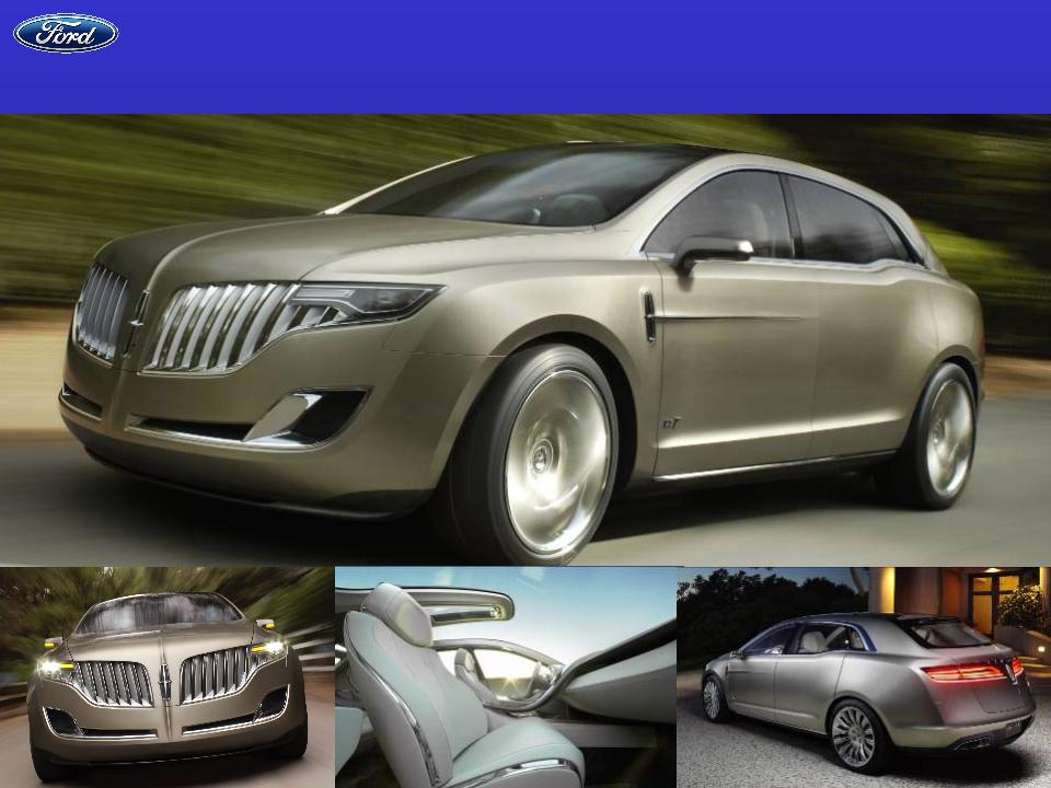 2008 Lincoln Mkt Concept. Lincoln MKT Concept