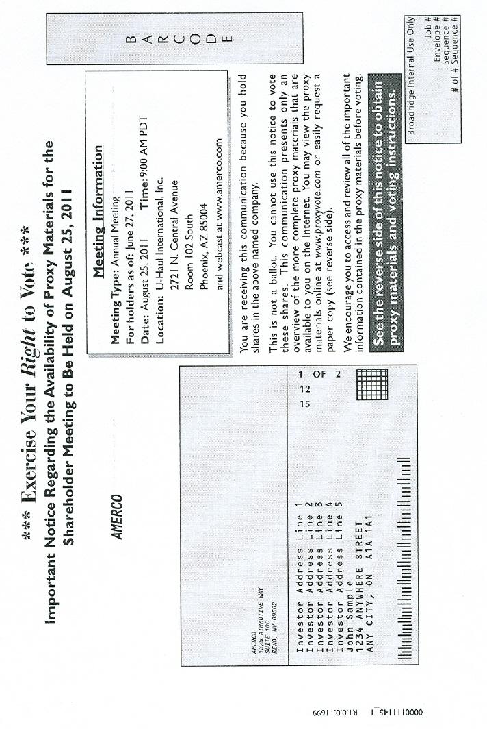 NOTICE CARD (1 0F 4)