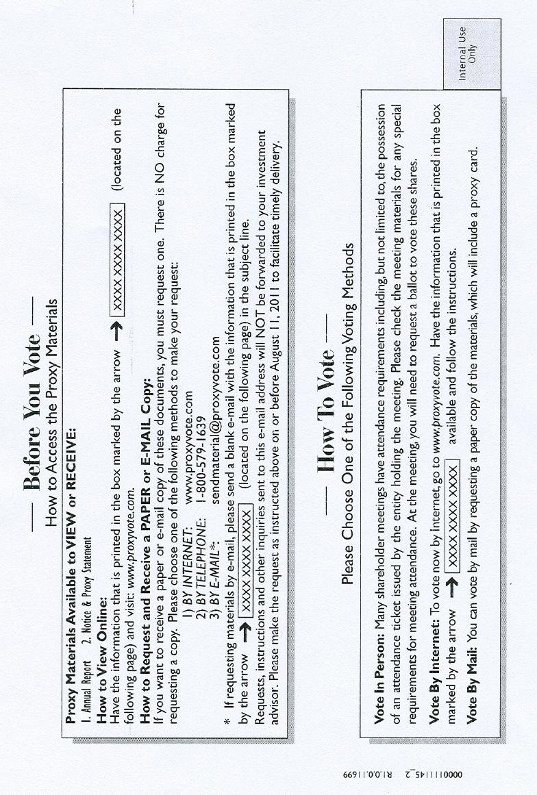 NOTICE CARD (2 0F 4)