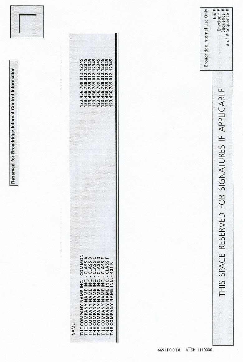 NOTICE CARD (4 0F 4)